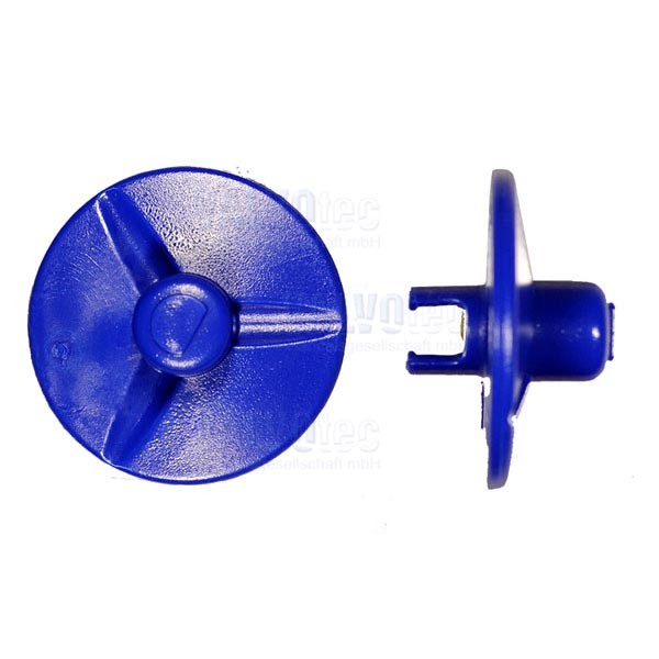 Mischerflügel, blau