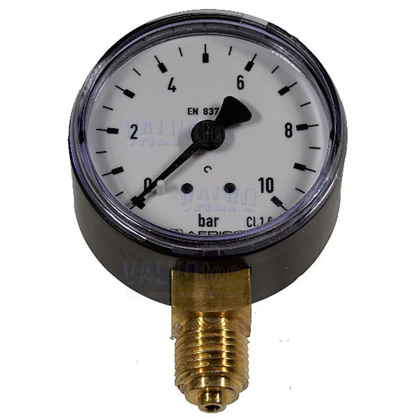 "Manometer, G 1/4"" AG, radial nach unten"