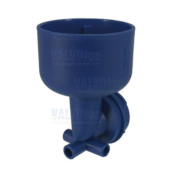Mischergehäuse blau