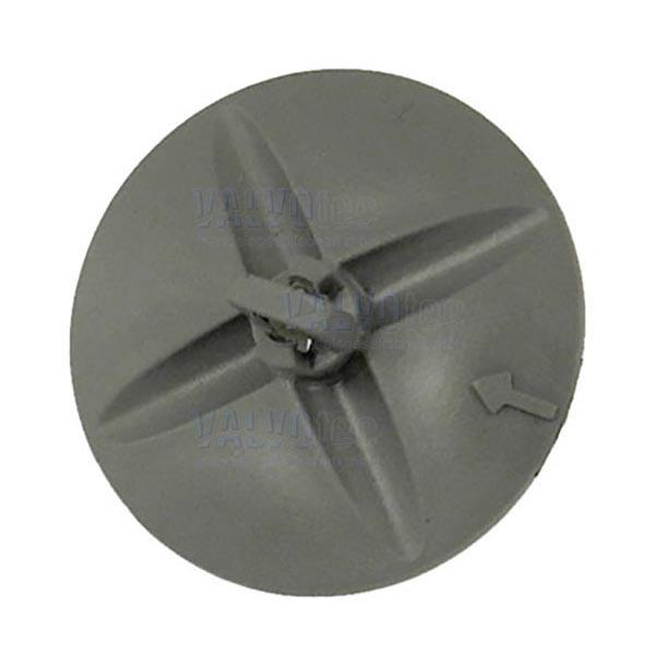 Mischerflügel, grau für Welle ø4mm