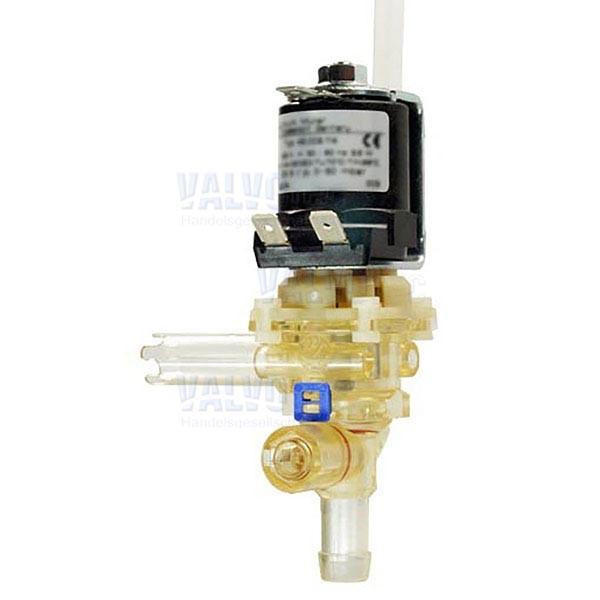 230 V AC - Einlass: ø 12 x 30 mm, 90° versetzt - DN8
