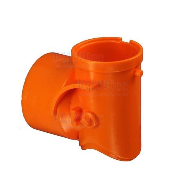 Produktrutsche gerade, orange