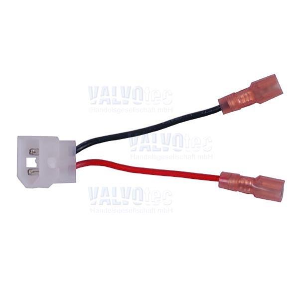 Kabelsatz von Motor auf 2-poligen Stecker