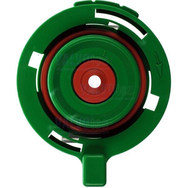 Mixerflansch kpl., grün