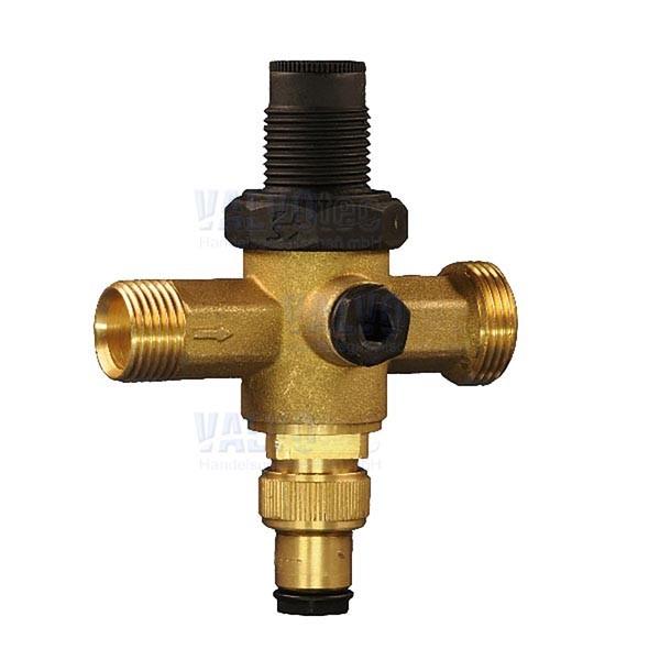 Kombinierter Wasser-Druckregler mit Doppel-Rückschlagventil