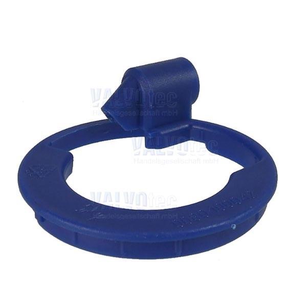 Dampfdeckel blau