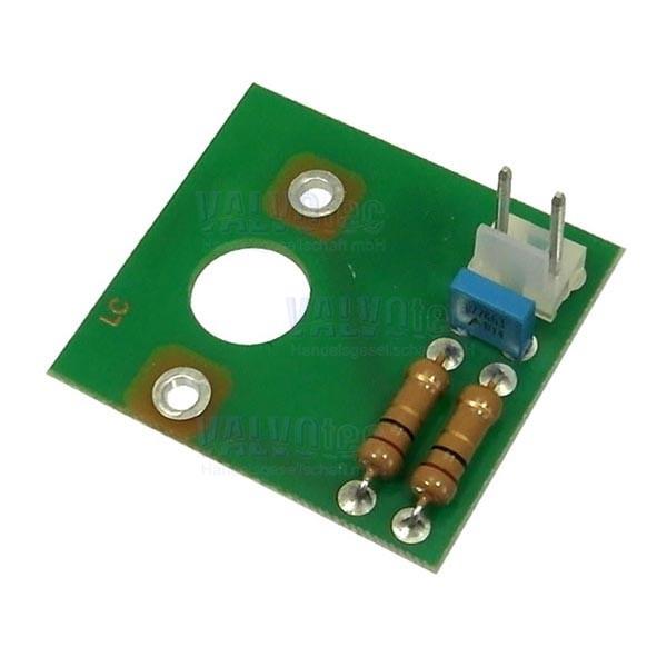 Filterplatine für Becherwerkgetriebemotor