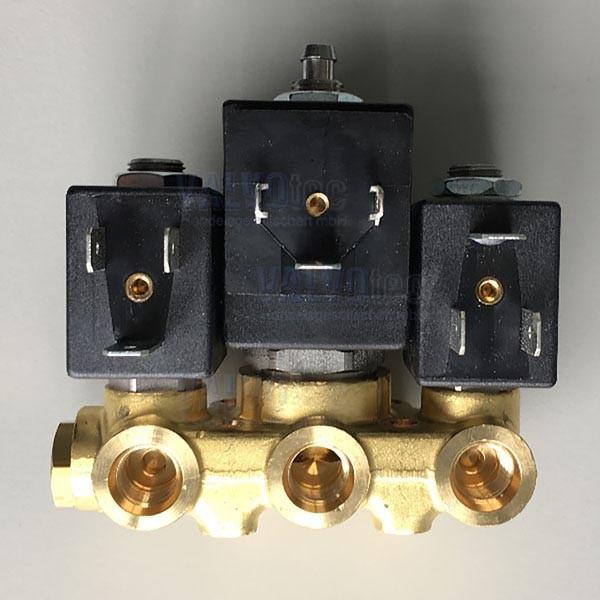 ODE - 3er Ventilblock, 230 V 50 Hz