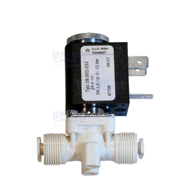 24VDC, 12bar, DN1,5 - 3/2-Wege-Espressoventil NC