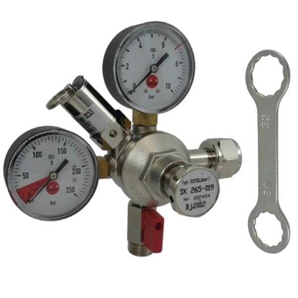 """SET - CO2-AFG-Druckminderer bis 7 Bar - 1/2"""""""