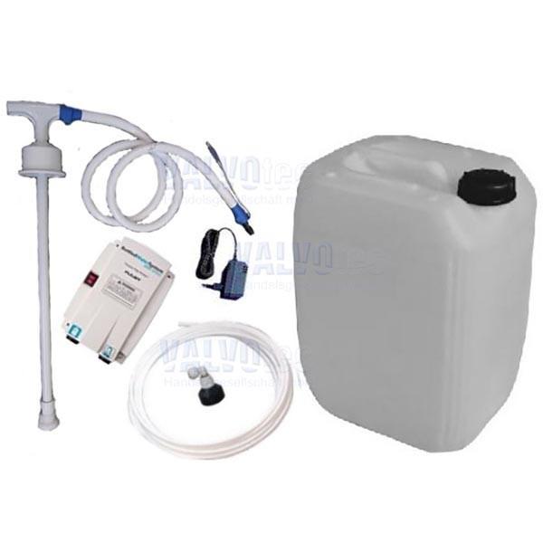 FLOJET Getränkepumpe - mit 20 Ltr. Wasserbehälter